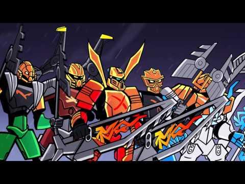 Bionicle Mini film ep. 17 - Die�na tvocu masiek