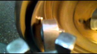 Rectificando tambor de freno ovalado