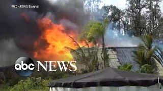 After volcanic eruption, Hawaiians face possible volcanic smog and acid rain