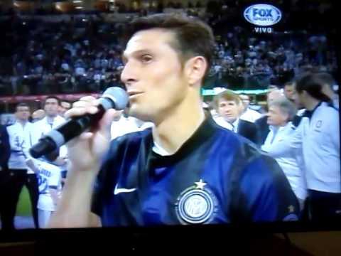 La Despedida del 'Puppi' Javier Zanetti