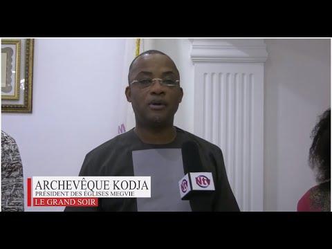 KIKKAR AWARDS 2021 - l'Archevêque  KODJA reçoit le prix Spécial