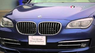 BMW ALPINA B7 2013 with Charlie Romero and Andy Bovensiepen of Alpina by RoadflyTV videos