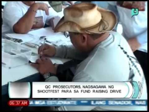 Balitaan: QC prosecutors, nagsagawa ng 'shoot fest' para sa 'fund raising drive' [04/11/14]