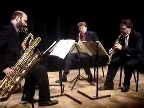 Aurelia Saxophone Quartet plays Ravel