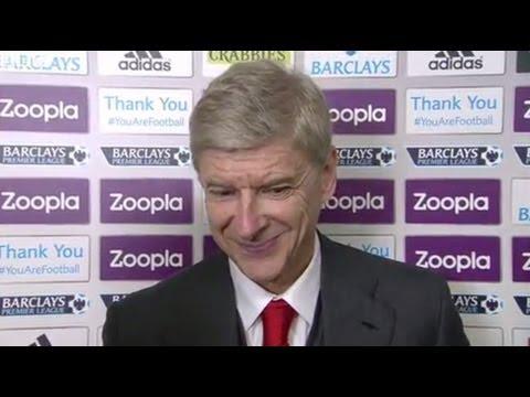 West Brom vs Arsenal 1-1 - Arsene Wenger (06-10-13)