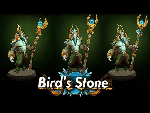 Dota 2: Store - Nature Prophet - Bird's Stone Set