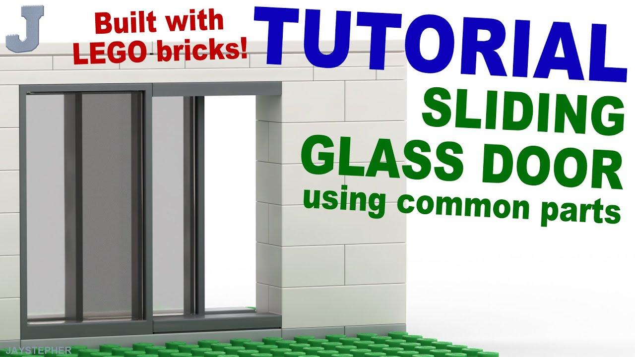 Tutorial Lego Sliding Glass Doors Using Common Parts Cc