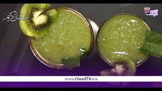 شهيوة فدقيقة:عصير لذيذ و غير مكلف..موخيتو بالكيوي | شهيوة فدقيقة