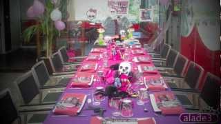 Decoración Fiestas Monster High