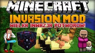 Minecraft 1.6.2 Mody - Invasion Mod - Wielka Inwazja Potworów [Broń Nexusa]!