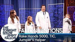 Fallonventions: Rake Hands 5000, TiC (Tongue-Interface-Communication), Jumper's Helper