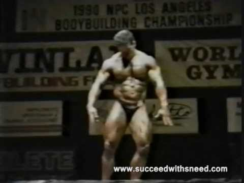 Jeff Sneed 1990 NPC Body Building Championships Los Angeles
