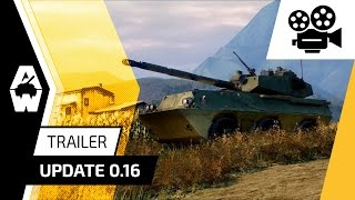 Armored Warfare - 0.16-os Frissítés Trailer