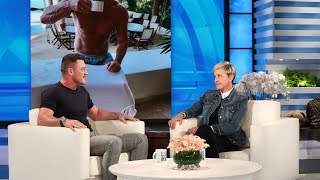 Luke Evans Reveals Mick Jagger's Texting Style