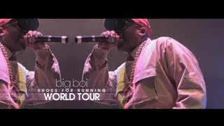 Big Boi Tells What Makes A Good Artist + Shoes For Running World Tour VA Performance