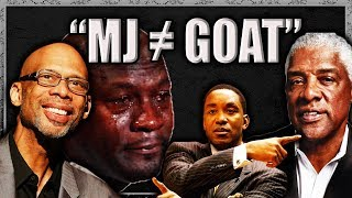 NBA Legends Who DON'T Believe MJ is the GOAT?! (ft. my non-NBA-legend-opinion)
