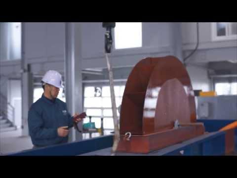 Vane Type Tidal Turbine - 1kW Scale Test Bed