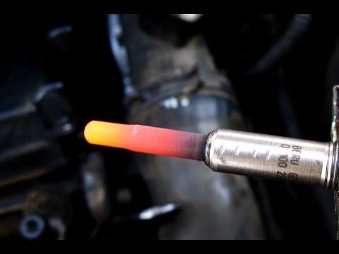 Свечи накала, проверка.VW Sharan TDI