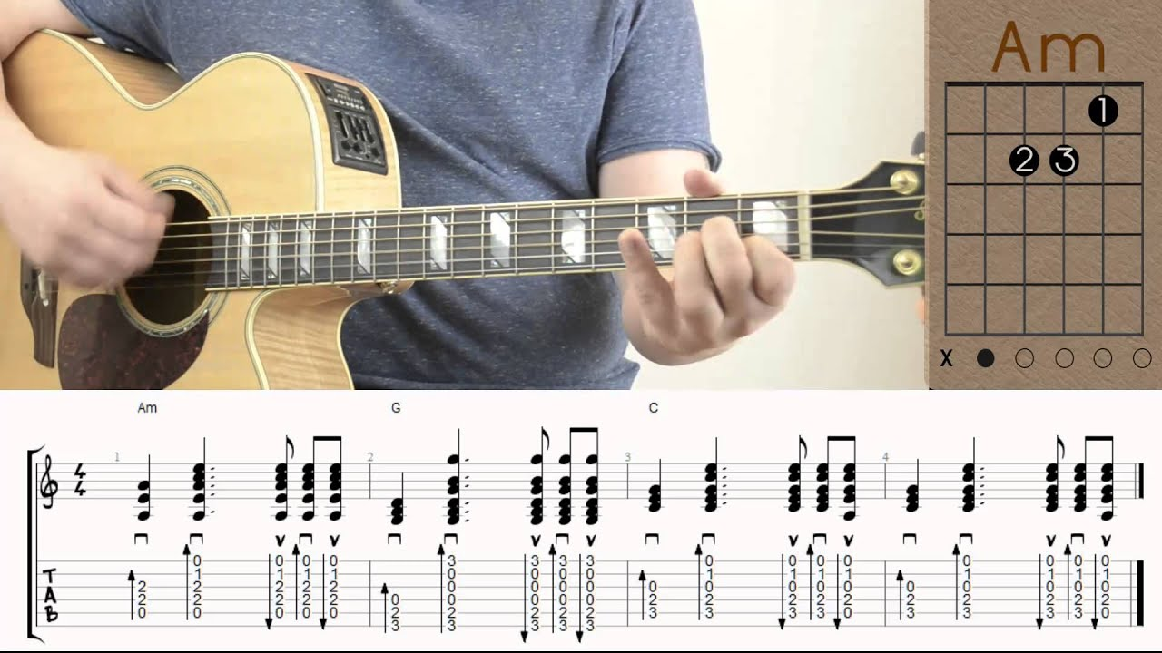 The Lumineers - Ho Hey / Guitar Lesson / Tutorial / Chords / How to Play for Beginners - YouTube