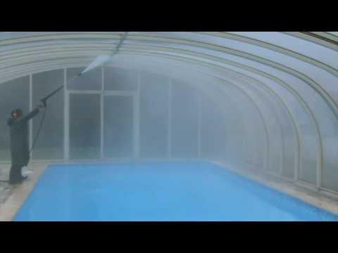 64 n ttoyage haute pression abris de piscine int rieur 81 for Nettoyage abris piscine