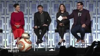 Star Wars The Last Jedi Celebration Panel Highlights - Mark Hamill, Daisy Ridley, John Boyega