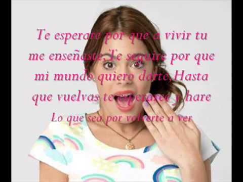 Violetta - Te Esperare Letra