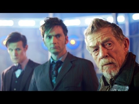 "DOCTOR WHO *Exclusive Extended* Inside Look: In Awe of John Hurt in ""The Day of The Doctor"""