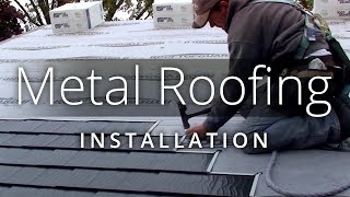 Perfect Metal Roof Installation :: Interlock® Roofing   YouTube