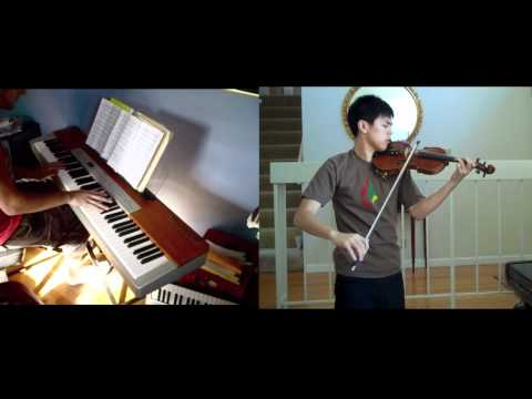 Kingdom Hearts - Hikari Duet (violin, piano) FT. Josh Chiu