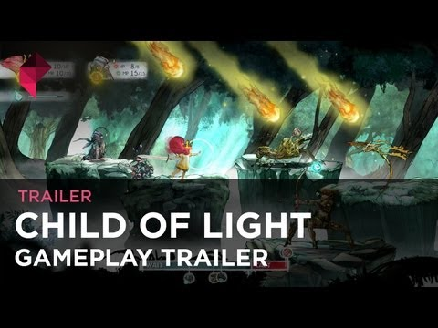 Child of Light - gameplay trailer