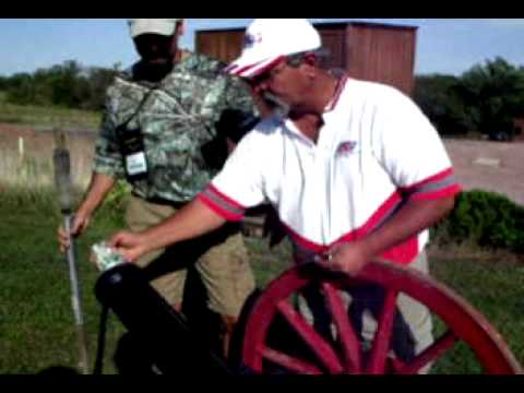 Thumbnail image for 'Video of shooting a cannon at outdoor writers conference'