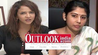 Manchu Lakshmi Fires Out Look Magazine