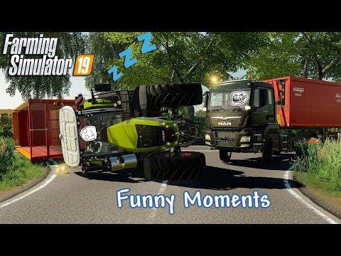 Funny Moments & Crash Compilation - Farming Simulator 19 Multiplayer #2