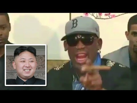 Watch Dennis Rodman Freak Out In North Korea