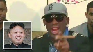 Watch Dennis Rodman Freak Out In North Korea
