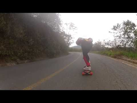 Viana Hills - Drop Fernandinha Rodrigues - 11 anos.. Skate Speed - Rubim Downhill