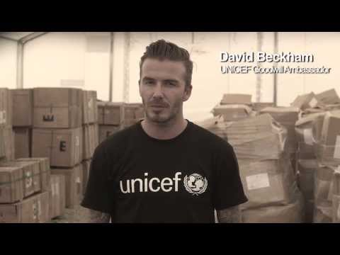 Join David Beckham: Champion the #childrenofsyria