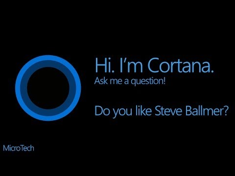 Do you like Steve Ballmer? - Cortana Questions