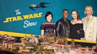 Kylo Ren's New Ship, The Last Jedi Cast at D23, & Star Wars: Galaxy's Edge!