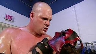 WWE RAW 10/28/13 Kane Removes His Mask