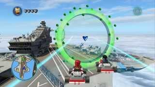 LEGO Marvel Super Heroes Unlocking Maria Hill + Gameplay