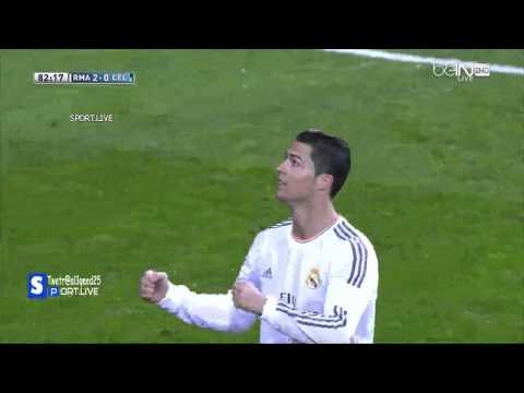 Real Madrid vs Celta Vigo 3 0 All Goals 6-1-2014 HD