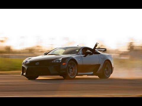 Drifting the 2012 Lexus LFA