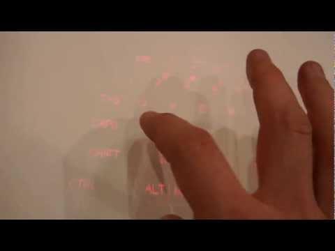 Magic Cube - laserowa klawiatura i mysz