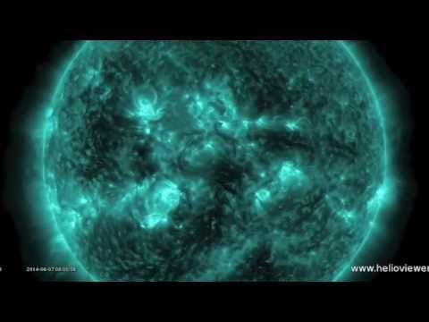 S0 News June 7, 2014 | M Class Solar Flare, Project Update