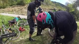 Caídas en bicicleta