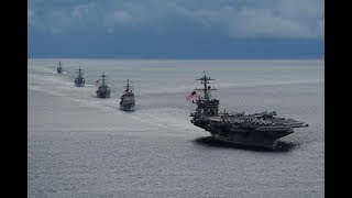 US-UK readying attack ships and jets off the coast of Syria: Russia armed forces on heightened alert