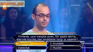 Kim Milyoner Olmak Ister 238. bölüm Mehmet Gürsoy 17.06.2013 öss 77.si
