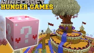 Minecraft: ADVENTURE TIME HUNGER GAMES - Lucky Block Mod - Modded Mini-Game