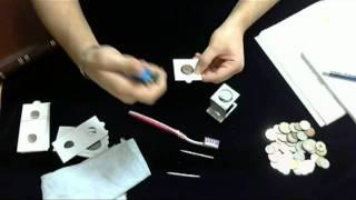 Cómo guardar y clasificar una colección de monedas.